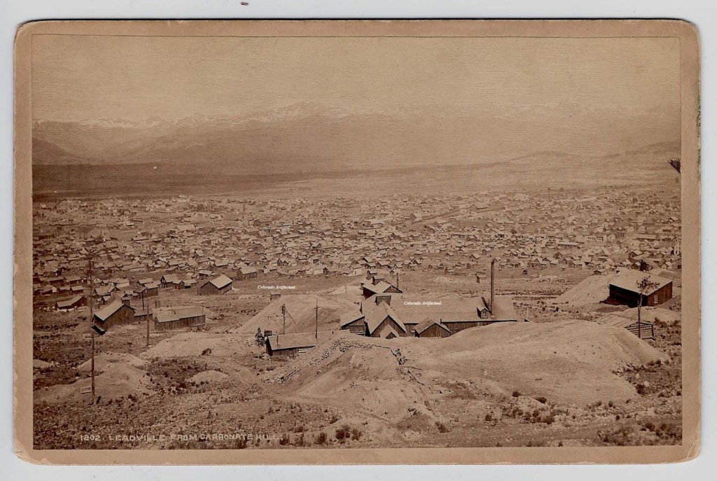 Leadville from Carbonate Hill WHJ 1202 b