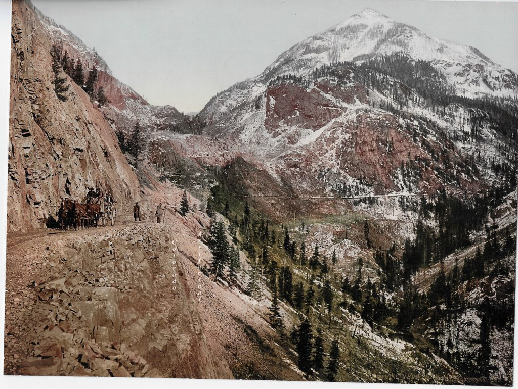 Ouray to Silverton Toll Road WHJ b