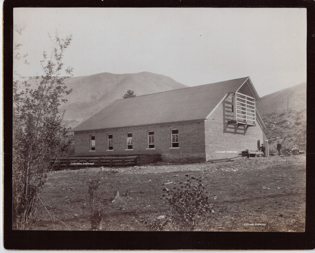 Roaring Fork Valley Electric Company, Aspen, Colorado ca 1895 b