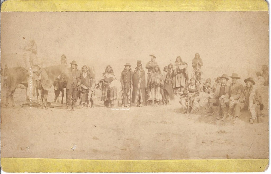 Utes on Ignacio Southern Indian Agency Wilder Durango 2
