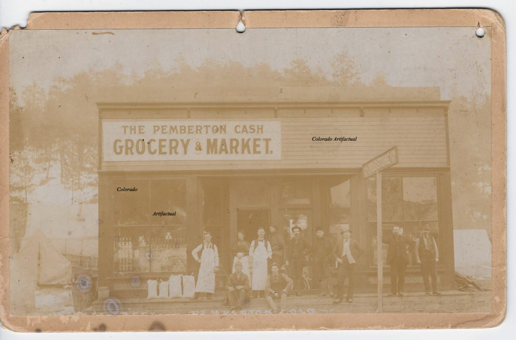 Pemberton Cash Grocery & Market West Creek Hiestand b