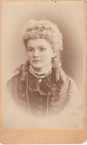 Wife of Governor Edward M McCook b