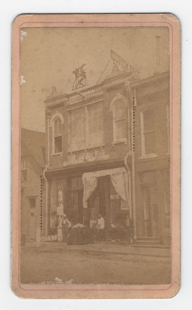 Duhem Bros photo studio Denver CT CDV 1