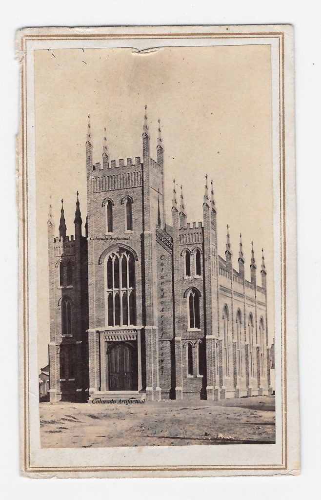 Methodist Church Denver CT CDV 2