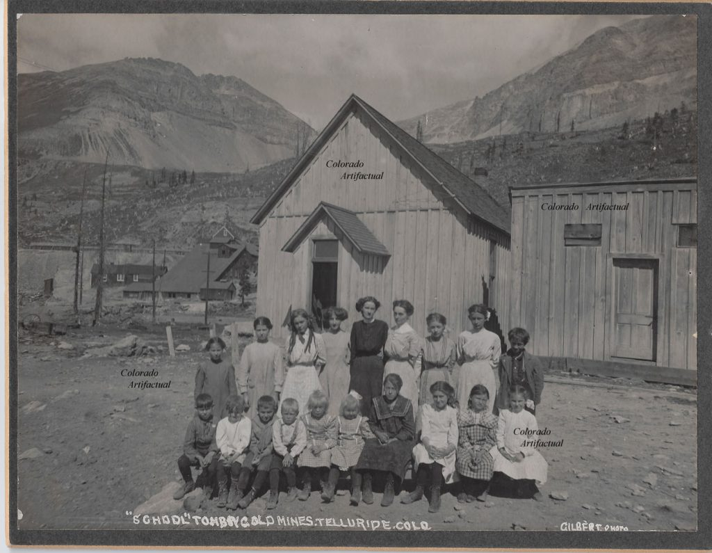 School Tomboy Gold Mines Telluride Colo 2
