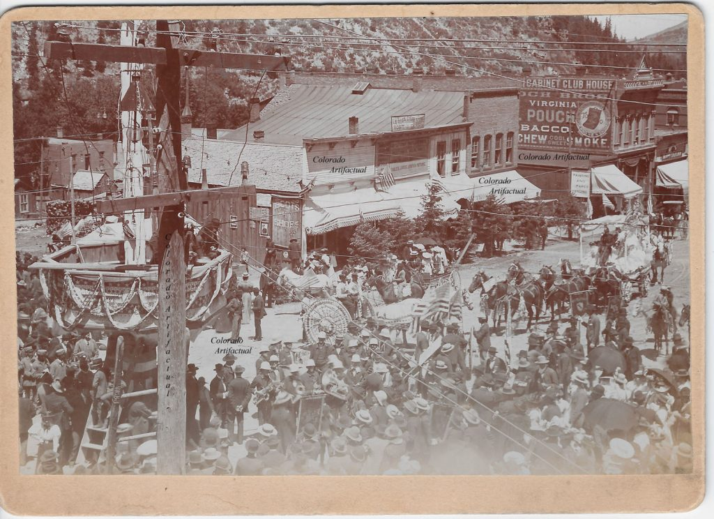Ouray July 4th celebration 1895 b