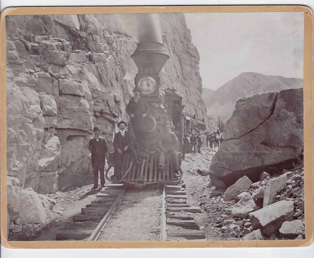 Denver Leadville & Gunnison Palisades Engine 197 b