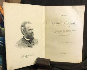 Education in Colorado, 1861 - 1885