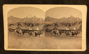 J. R. Riddle Estes Park photographs