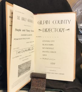 Gilpin County Directory 1897 b