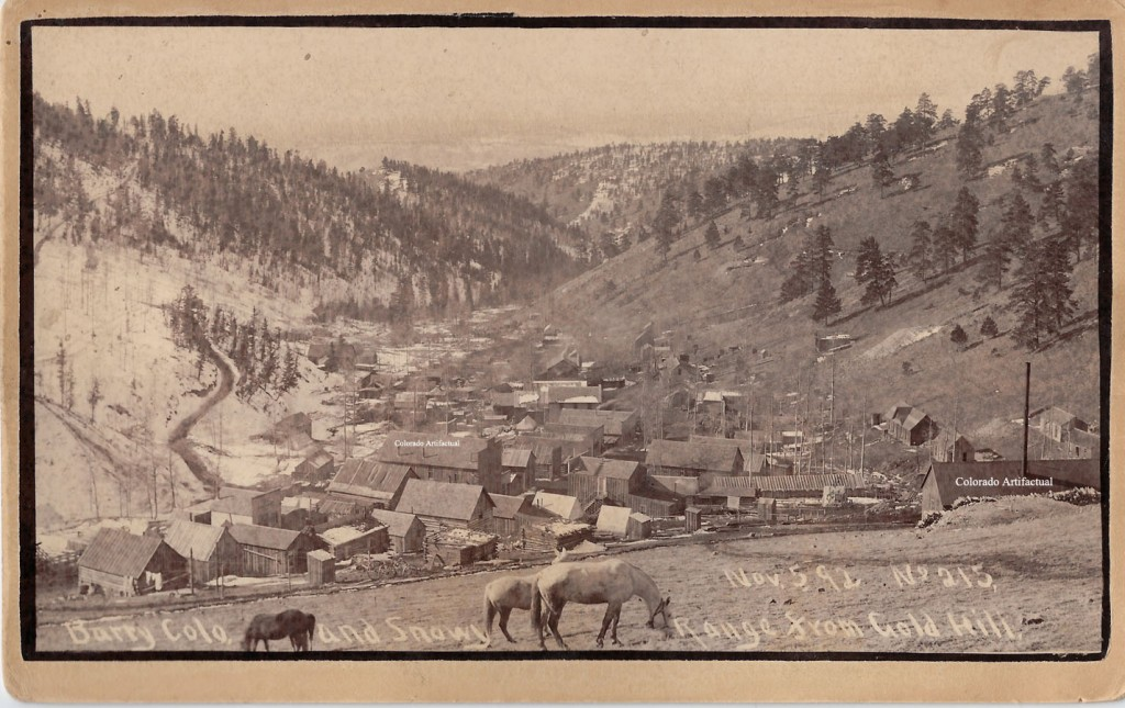 Barry Colo and Snowy Range from Gold Hill Nov 1892 Harlan 2