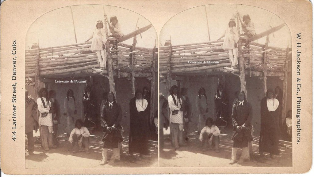 Group Ute Chiefs at Denver Exposition WHJ 2