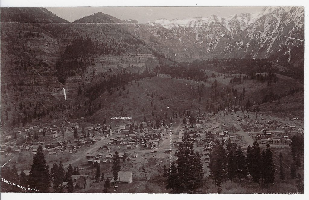 Ouray Col WHJ 5805 b