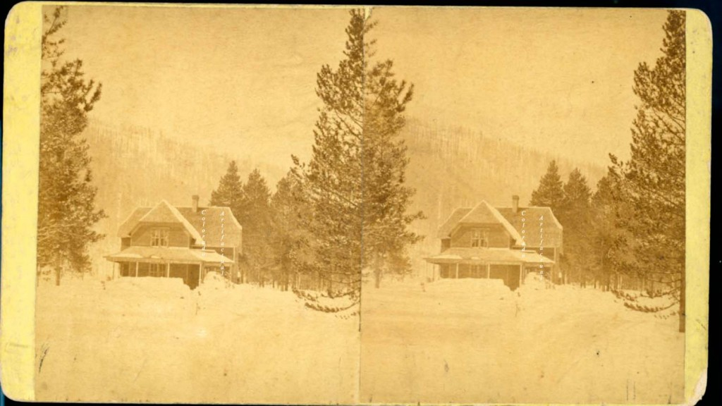 Winter Home in Crested Butte Mellen 1882 b