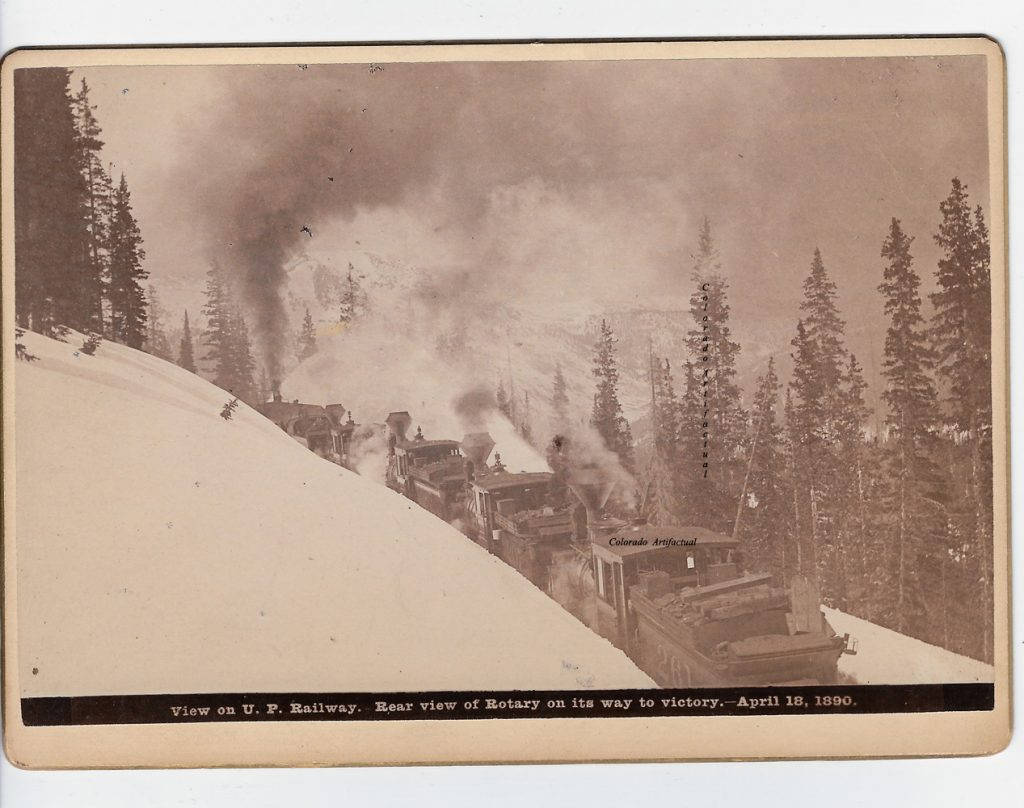 Rear view of Rotary on its Way to Victory April 18, 1890 WHJ b