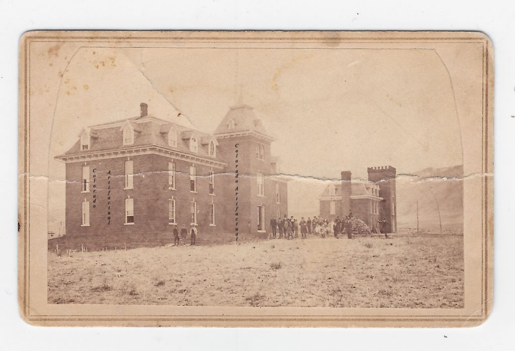 Jarvis Hall School of Mines Golden CT CDV 2