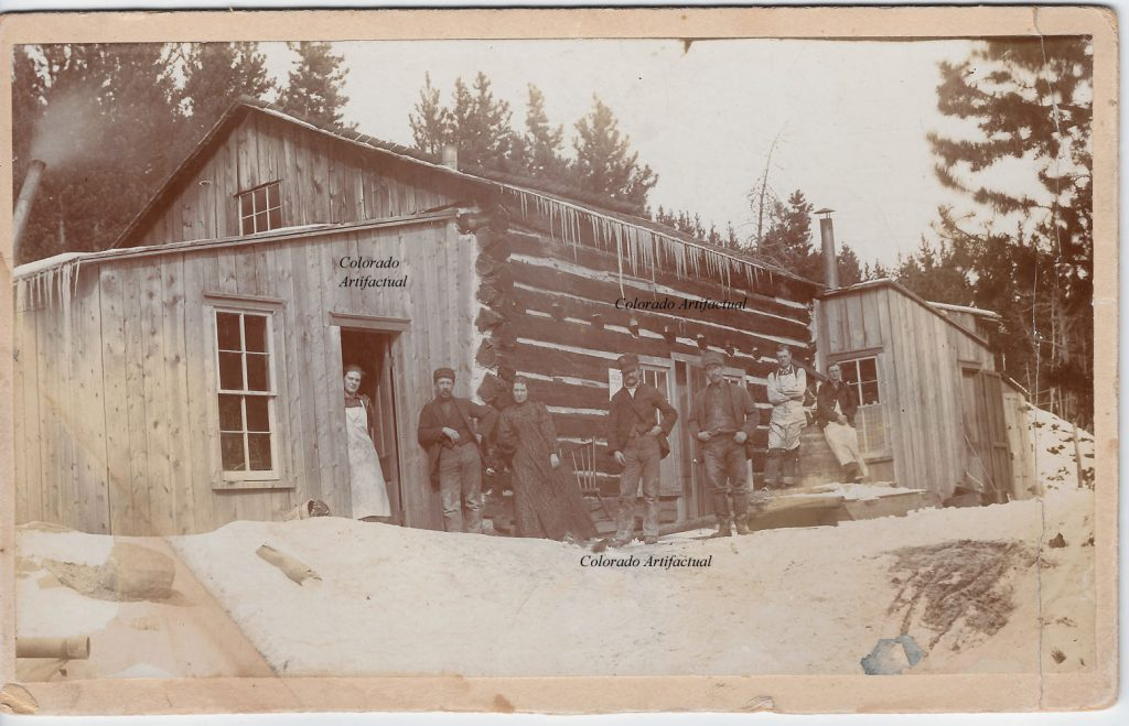 Miners boarding house Lyons Boulder County Colo 66b