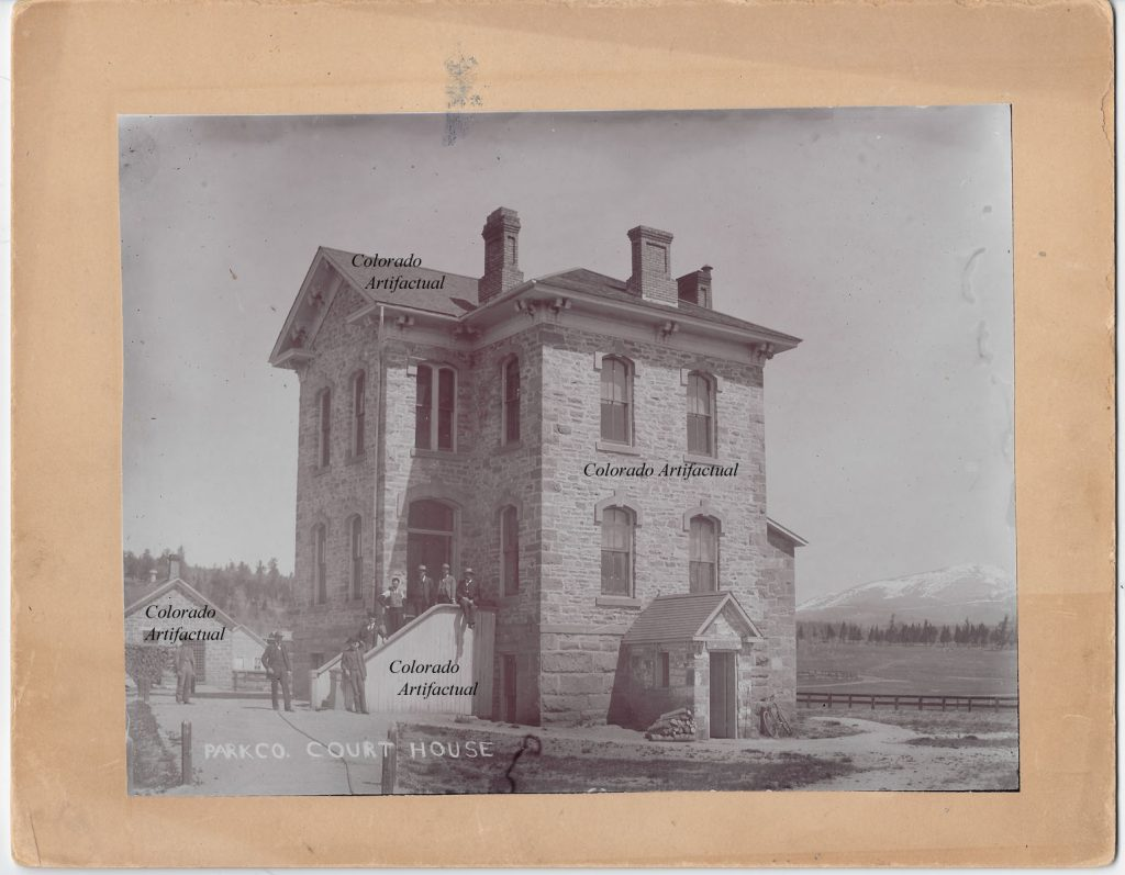 Park County Courthouse 1895 b