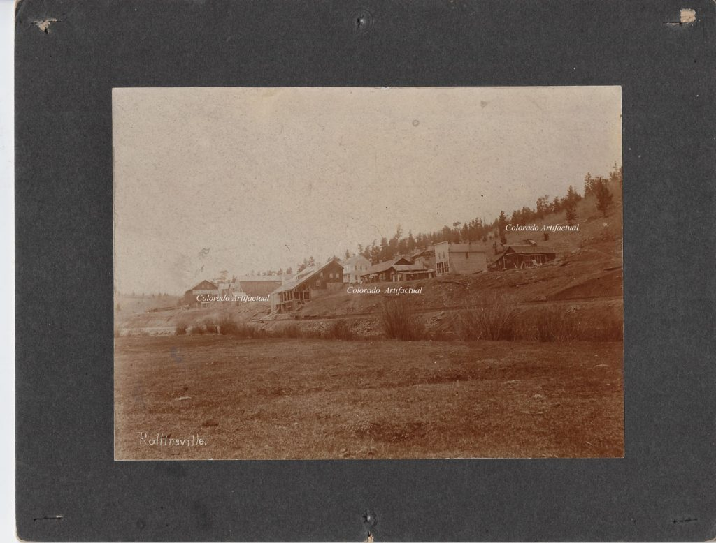Rollinsville, Boulder County Colo photo 111b