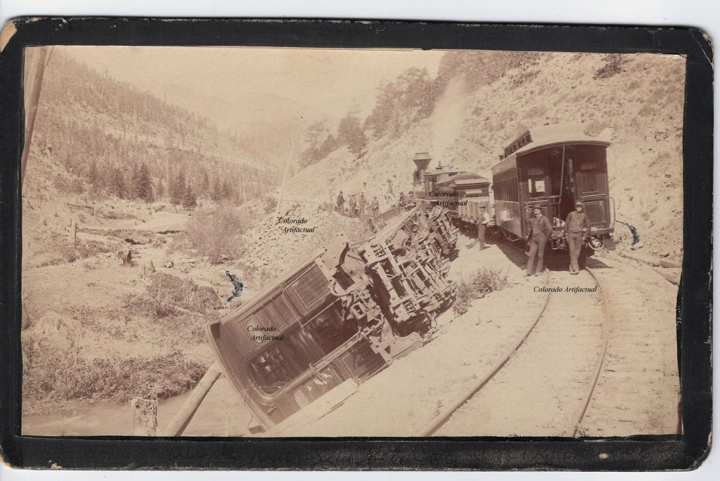 Train wreck on C&N, Boulder County Colo 84b