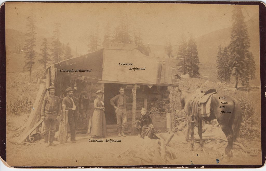 Early Red Mt prospectors cabin 2