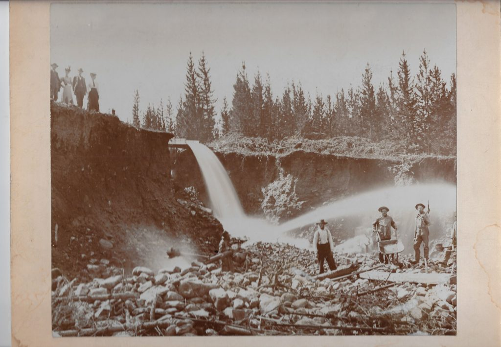 Hydraulic Mining near Breckenridge Colo Westerman photo 1