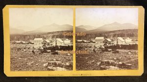 Colorado Territory W.G. Chamberlain stereo view