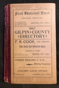 Gilpin County Directory 1897 a