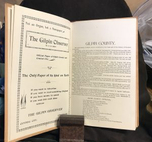 Gilpin County Directory 1897 c